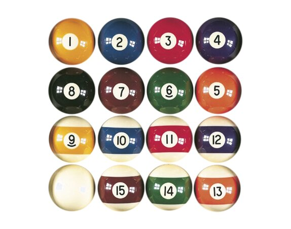 Billiards Master Pool Balls by GLD Products