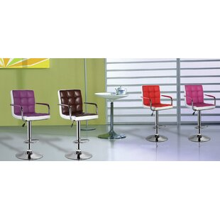 Compare prices Adjustable Height Swivel Bar Stool by eurosports