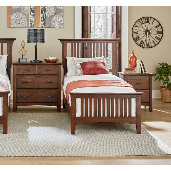 Zussen Twin Panel 3 Piece Bedroom Set by Harriet Bee