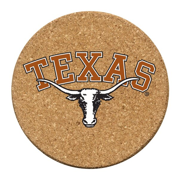 University of Texas Cork Collegiate Coaster Set (Set of 6) by Thirstystone