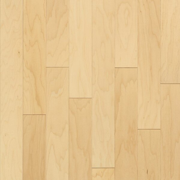 Turlington 5 Engineered Maple Hardwood Flooring in Low Glossy Natural by Bruce Flooring