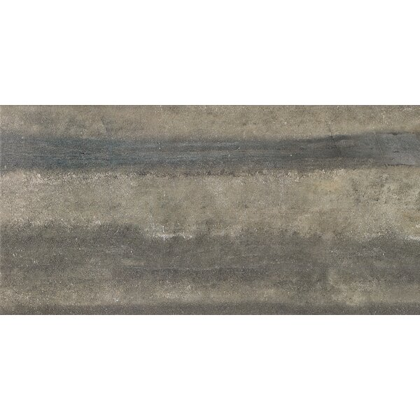 Enrichment 12 x 24 Porcelain Field Tile in Gray by Parvatile