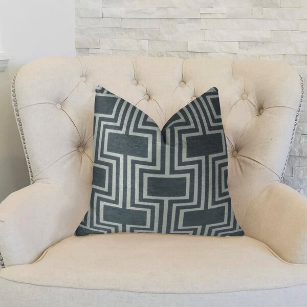Conduit Handmade Throw Pillow by Plutus Brands