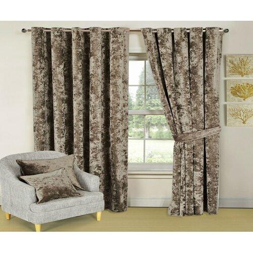 Santiago Bellini Eyelet Room Darkening Thermal Curtains