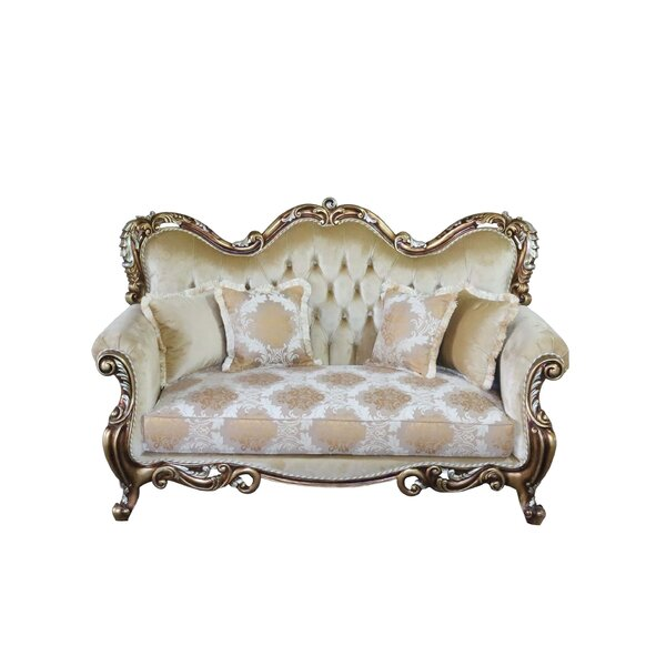 Philbrick Standard Loveseat By Astoria Grand