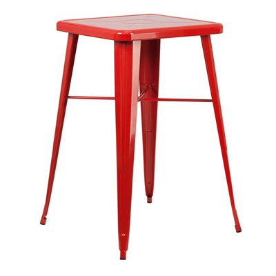 Marvelous Trent Austin Design Jesse Metal Bar Table Color Red Squirreltailoven Fun Painted Chair Ideas Images Squirreltailovenorg