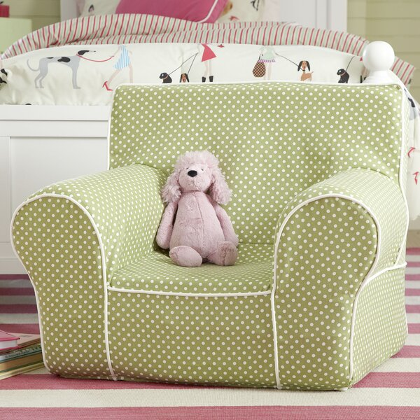 Sloane Monogrammed Dotted Chair by Birch Lane Kids™