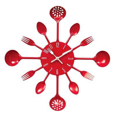 Extra Large Metal Wall Clocks Wayfair Co Uk