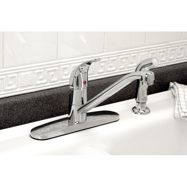 Westlake Single Handle Kitchen Faucet with Side Spray by Premier Faucet