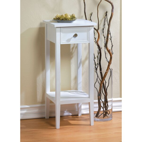 Falmouth End Table With Storage By Highland Dunes