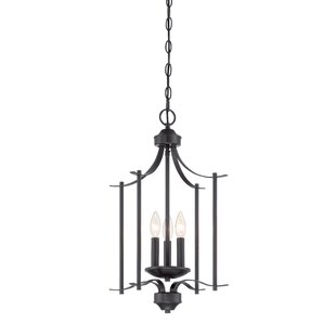 Naugatuck 3-Light Geometric Chandelier by Alcott Hill