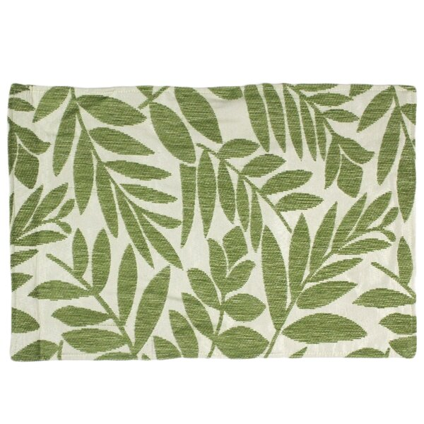 Tropical Leaf Placemat by Homewear Linens