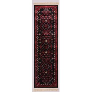 Crown Red Area Rug