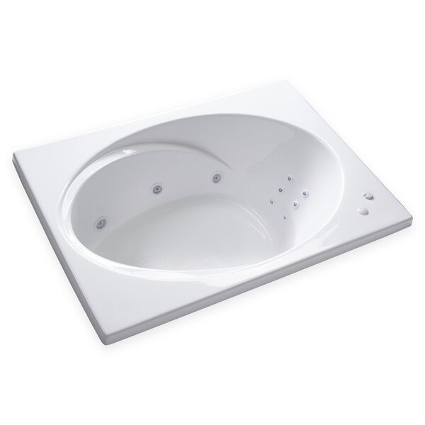 Hygienic Aqua Massage 60 x 42 Whirlpool Bathtub by Carver Tubs