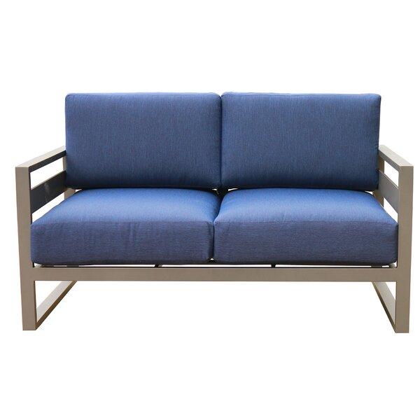Hearne Loveseat with Cushions by Orren Ellis