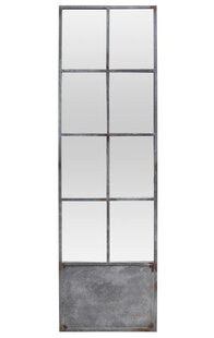 BIDKhome Fall 8 Pane Door Accent Mirror