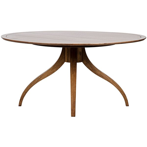 Vera Solid Wood Dining Table by Noir