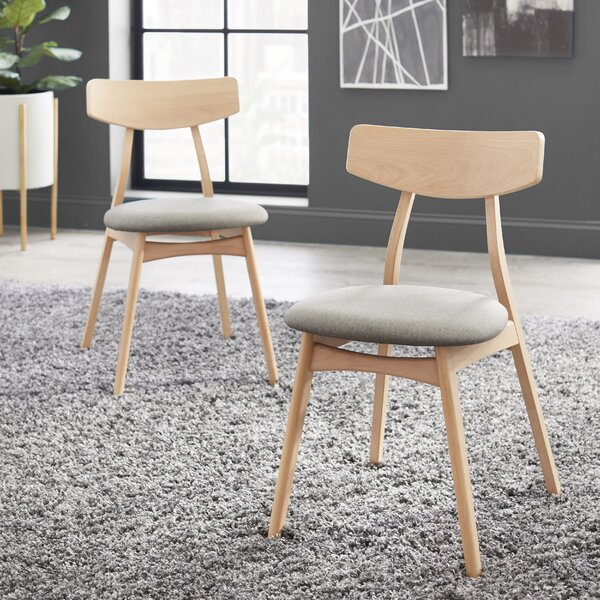 Grow Upholstered Dining Chair (Set of 2) by George Oliver