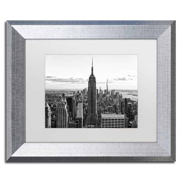 New York Cityscape by Philippe Hugonnard Framed Photographic Print by Trademark Fine Art
