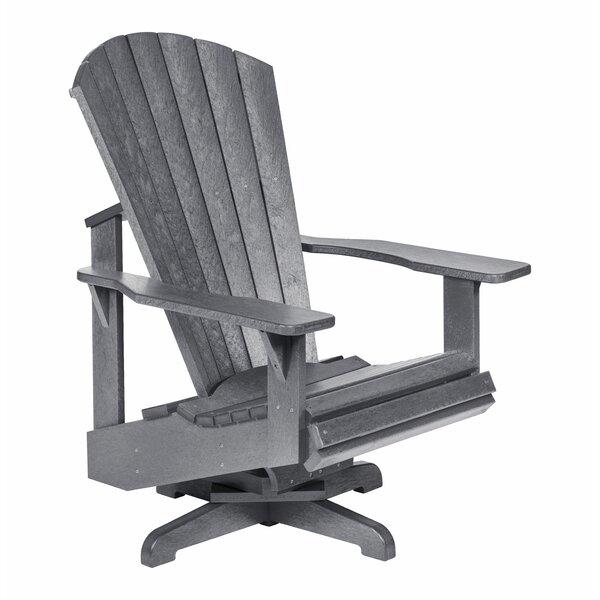 Poulsbo Swivel Patio Chair by Breakwater Bay Breakwater Bay