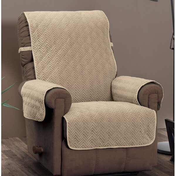 T-Cushion Recliner Slipcover with Straps by Alcott Hill