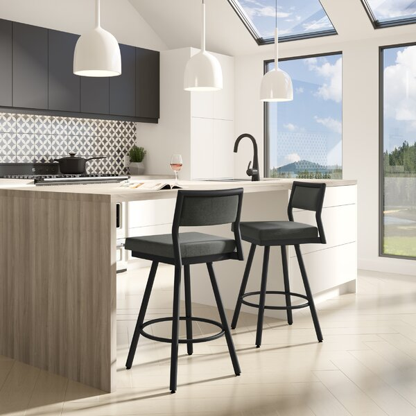 Fairchild Swivel Bar Stool by Brayden Studio