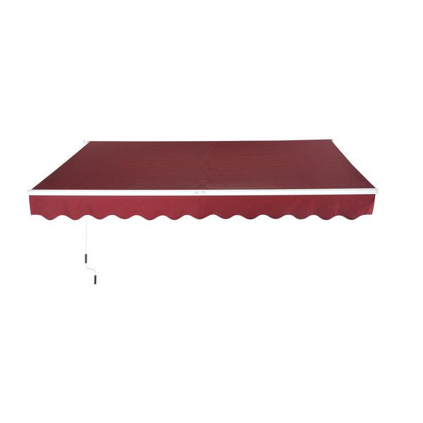 8 ft. W x 7 ft. D Retractable Patio Awning by Outsunny