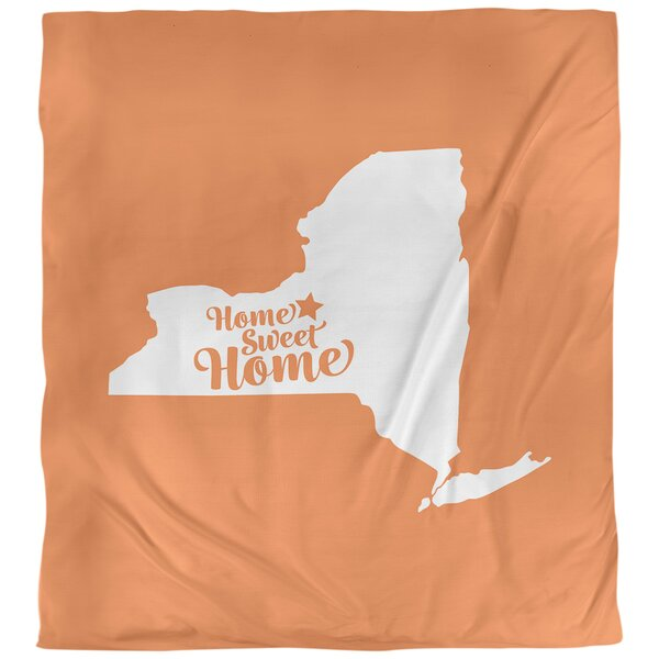 Home Sweet Syracuse Duvet Cover