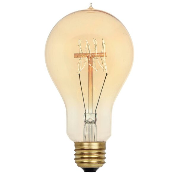 40W Amber A23 Light Bulb by Westinghouse Lighting