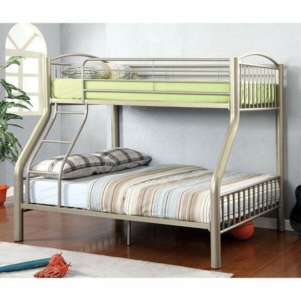 Fonseca Twin Over Full Bunk Bed by Harriet Bee
