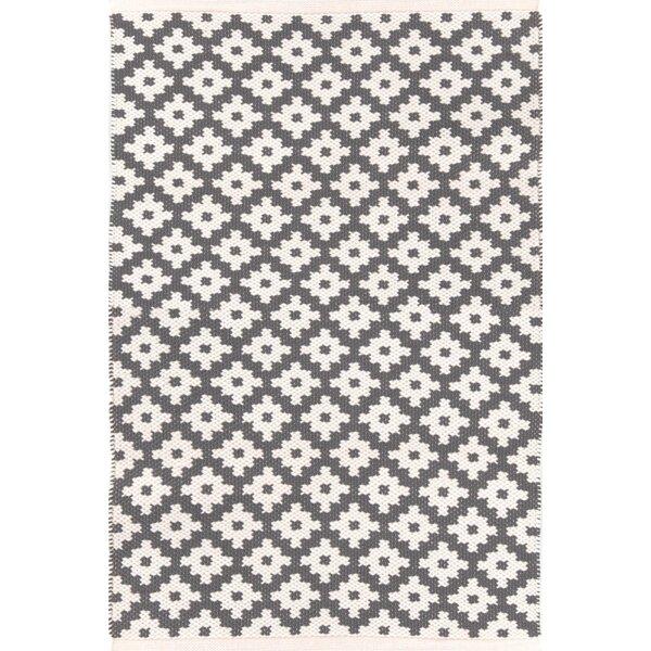 Samode Handwoven Flatweave Graphite Indoor/Outdoor Area Rug By Dash And Albert Rugs
