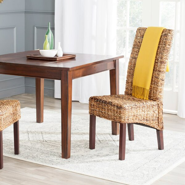 Adrian Solid Wood Dining Chair (Set of 2) by Bay Isle Home