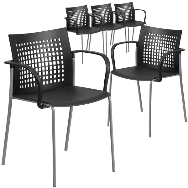 Laduke Stacking Chair (Set of 5) by Symple Stuff