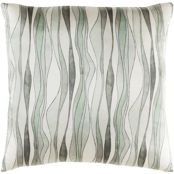 Natural Affinity Silk Throw Pillow by Shell Rummel