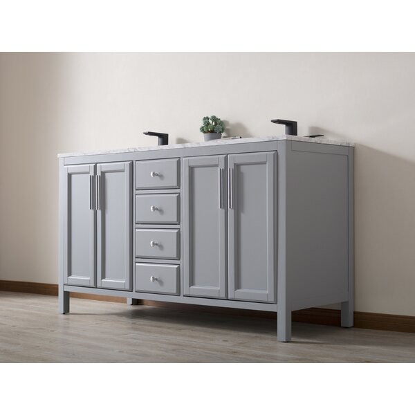 Chesham 59'' Double Sink Bathroom Vanity Set by Highland Dunes