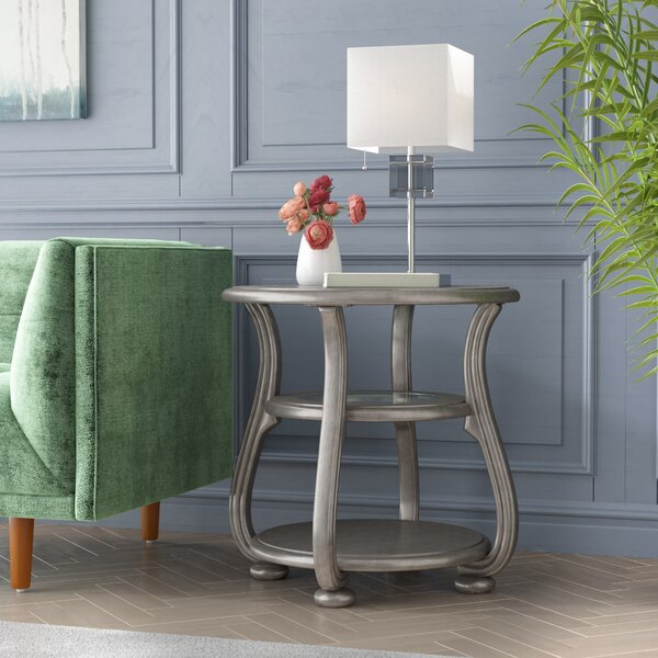 Guillaume End Table by Willa Arlo Interiors