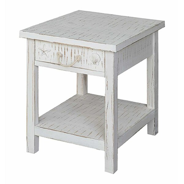 Seaside Coastal End Table by Crestview Collection