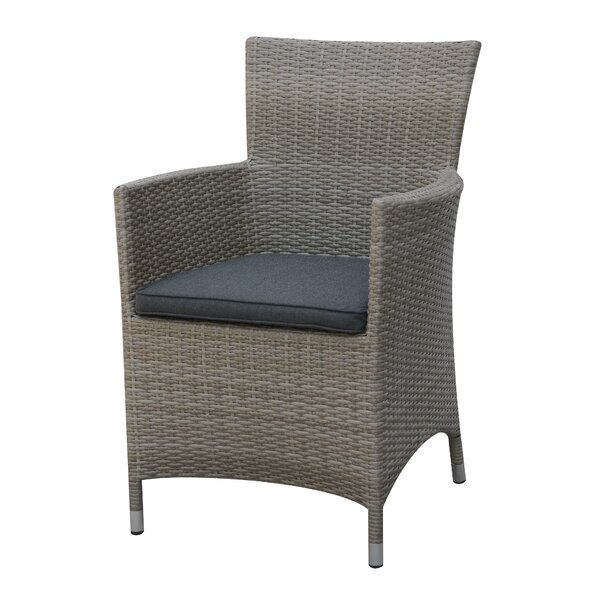 Rica Patio Dining Chair with Cushion by A&J Homes Studio