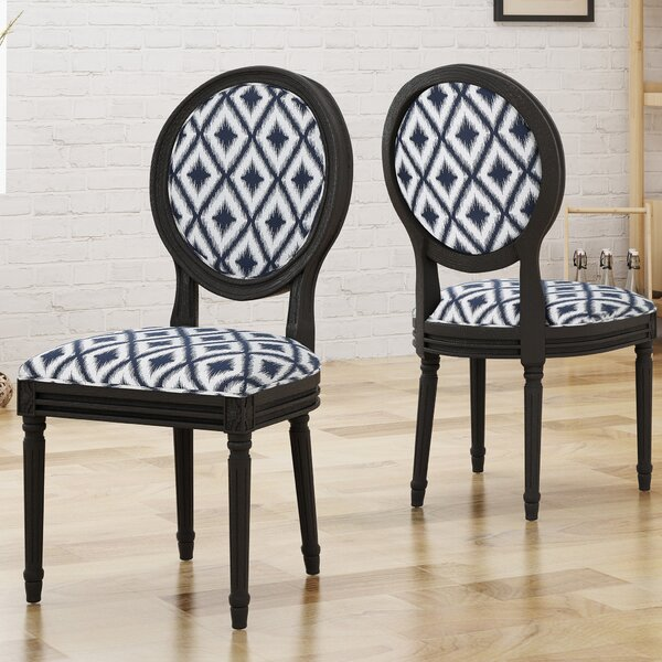 Rockwood Upholstered Dining Chair (Set of 2) by Alcott Hill
