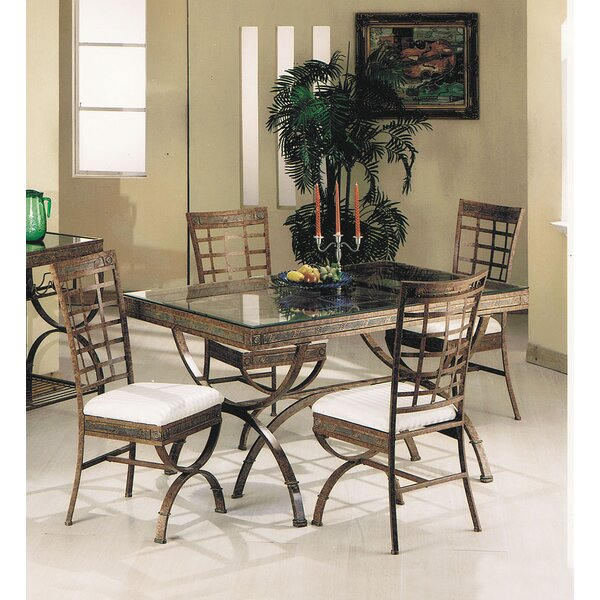 Cleopatra 5 Piece Dining Set by A&J Homes Studio