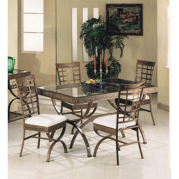 Find Cleopatra 5 Piece Dining Set By A&J Homes Studio Wonderful