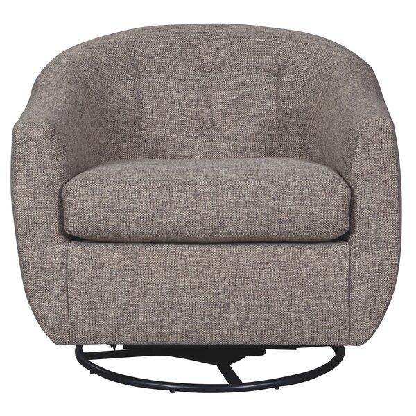 Marylin Swivel Barrel Chair by Latitude Run