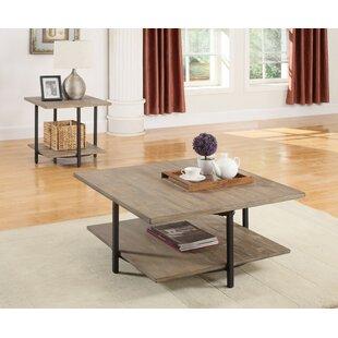 Mcquiston 2 Piece Coffee Table Set Mercury Row