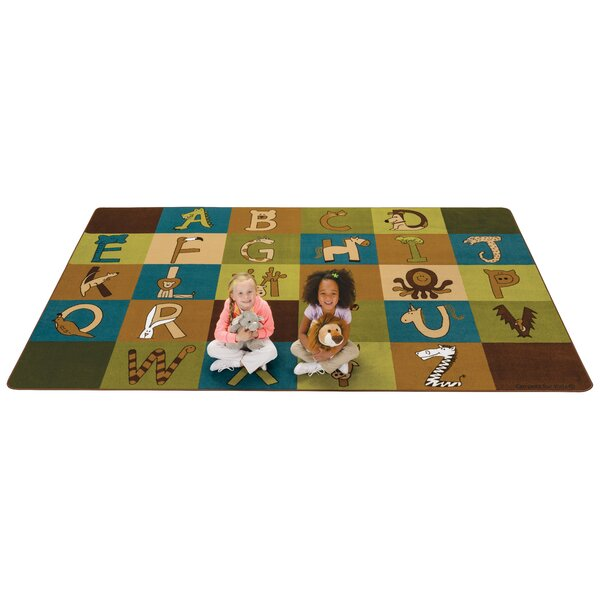 A to Z Animals Area Rug by Kids Value Rugs