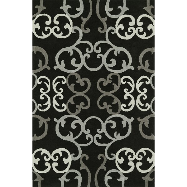 Journey Hand-Tufted Black Area Rug by Dalyn Rug Co.