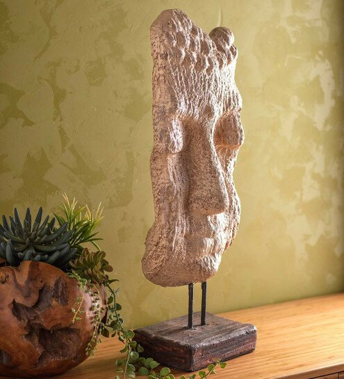Eileen Artistic Rendition Buddha Bust by World Menagerie