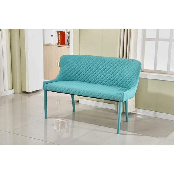Centrahoma Upholstered Bench (Set of 2) by Brayden Studio