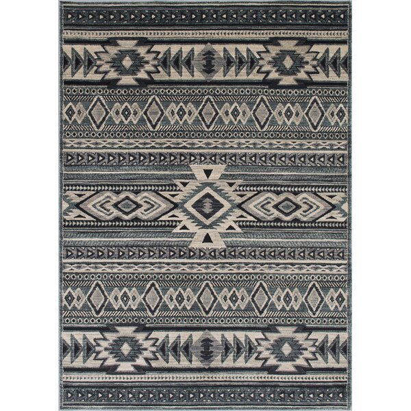Cima Tribal Style Pistachio Area Rug by Loon Peak