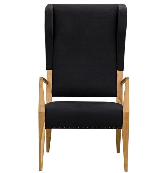 Narciso Wingback Chair By Noir Cheap