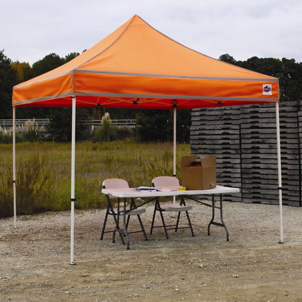 Festival 10 Ft. W x 10 Ft. D Steel Pop-Up Canopy by King Canopy